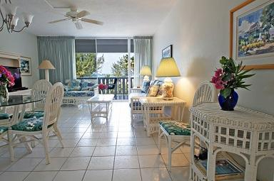 Living Room - Breathtaking View - #13 Harbour Heights 7MB - Seven Mile Beach - rentals