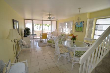 Unit 36 Living Room - End Unit with Charm - #36 Harbour Heights 7MB - Seven Mile Beach - rentals