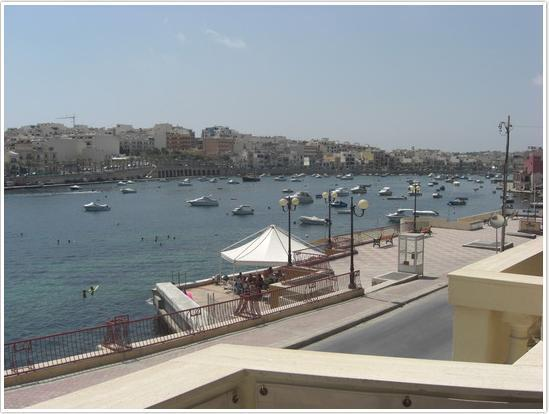 View from balcony - 2 BEDROOM SEAFRONT APARTMENT - Marsascala - rentals
