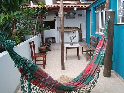 quintal com churrasqueira - Casa para temporada em Águas de Lindoia, SP - Indianopolis - rentals