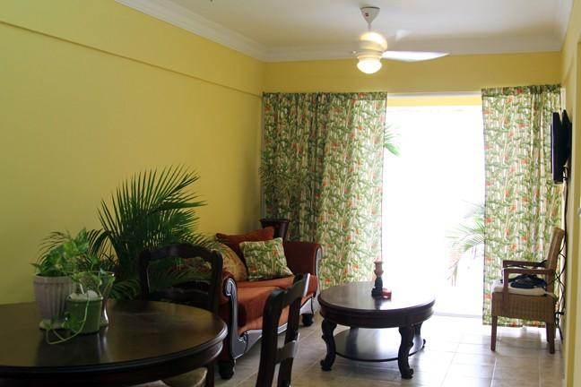 Living Room Main - Classic Carribean Colonial Zone 3 Bedroom 2 Bath - Santo Domingo - rentals