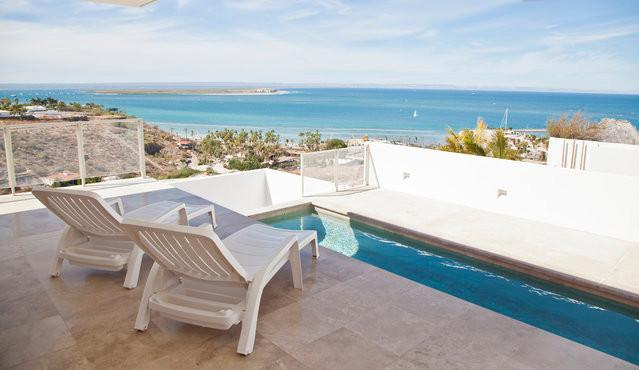 Pool area - Casa Panorama, outstanding views to the city - La Paz - rentals