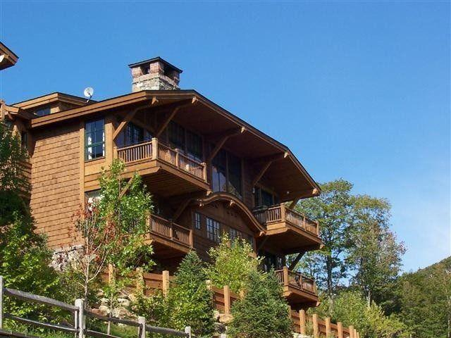 front - Spruce Peak Mt. Cabin 35 - Stowe - rentals