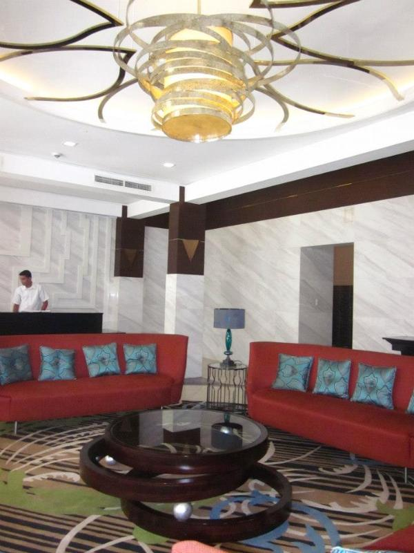 Lobby Area - Furnished Studio centrally located in Makati - Makati - rentals