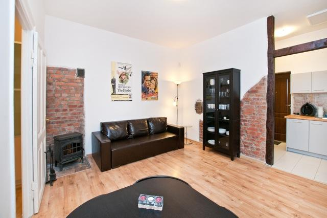 Cosy room with fireplace - Apartment in the centre of old Town - Gdansk - rentals