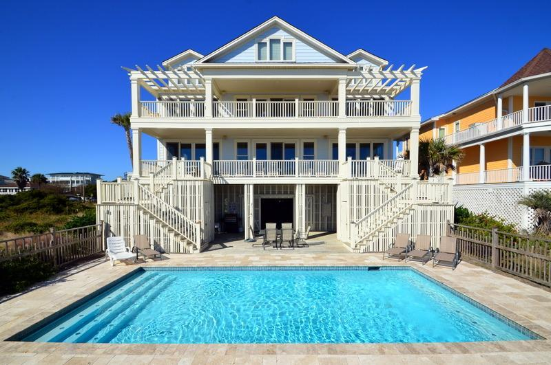 Pool - Large & Beautiful Ocean Front Home! - Isle of Palms - rentals