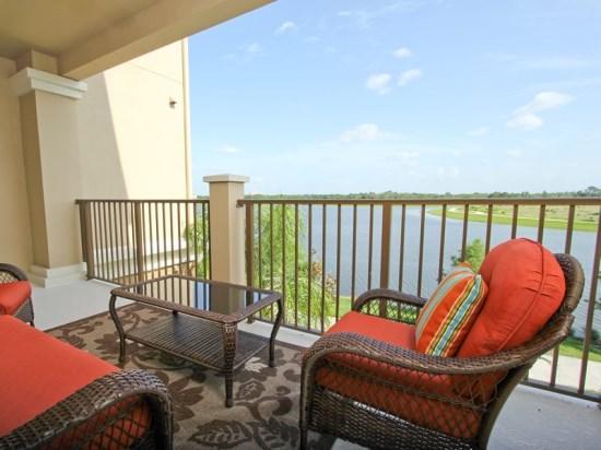 Balcony  - VC3C5024SL-302 Sophisticated Design Vacation Condo Home in Vista Cay Resort - Orlando - rentals