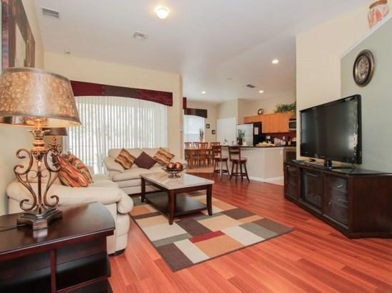 Living Area - WP4P8058KPC Luxury Vacation Haven in Kissimmee with Modern Furnishings - Orlando - rentals