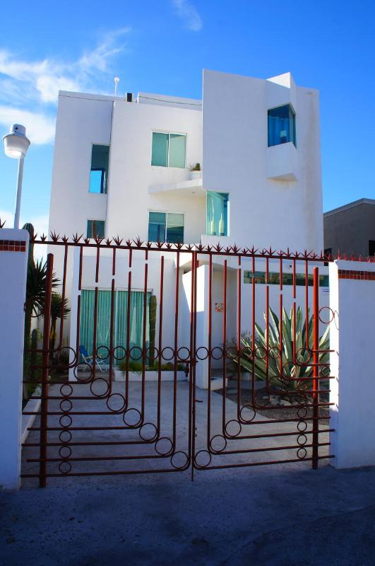 Gated Parking - Casa La Pazza just one block to the Malecon - La Paz - rentals