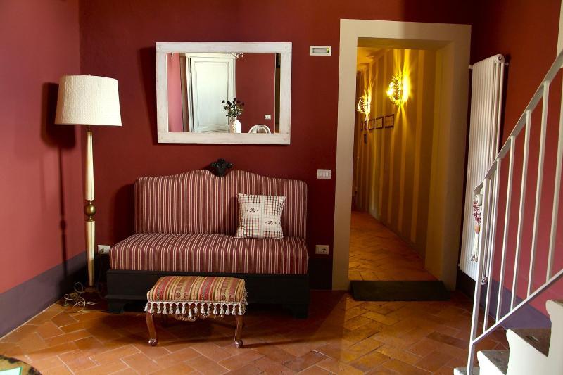 Living - ANTICA RESIDENZA GATTESCHI: charming stay @ Pistoia town center - Pistoia - rentals