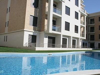 1008497 - Modern Sea View apartment with Pool, 50 meters from Beach - Sleeps 4 - Sao Martinho do Porto - Image 1 - Sao Martinho do Porto - rentals