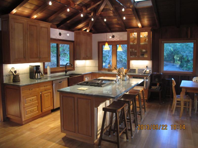 Kitchen - Private Redwood Masterpiece - Sebastopol - rentals