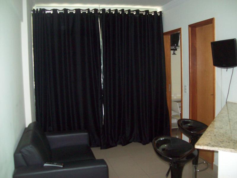 sala - Furnished Apartments At Goiania - Goiania - rentals