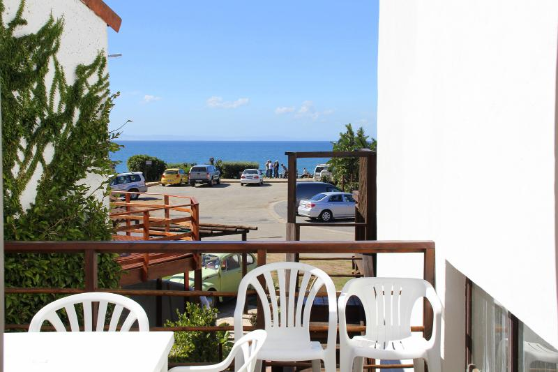 Sea view from Deck - Bungalow - Whale Apartment close to beach and surf - Jeffreys Bay - rentals