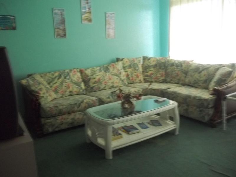 living room - Ocean City MD beachfront condo w/ pool - Ocean City - rentals