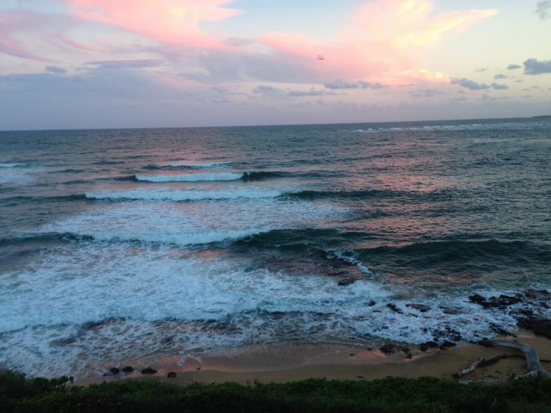 Sunset view from lanai! - Kauai Luxury Escape *** Your Ocean Paradise! - Kapaa - rentals