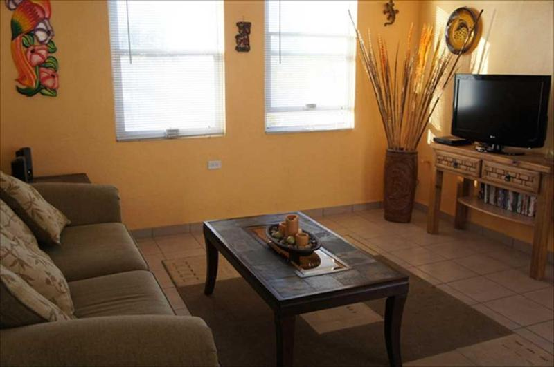 Living room - Pineda 4 One and half block to the Malecon - La Paz - rentals