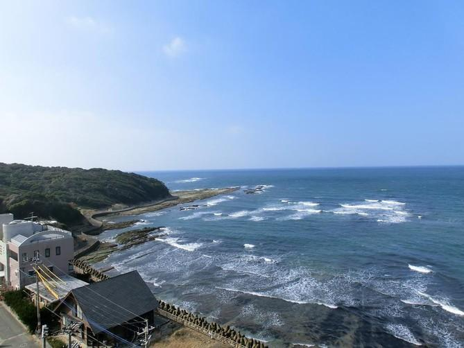 View from the apartment. - Ocean View Taro's Accommodation in Ashiya Fukuoka - Fukuoka Prefecture - rentals