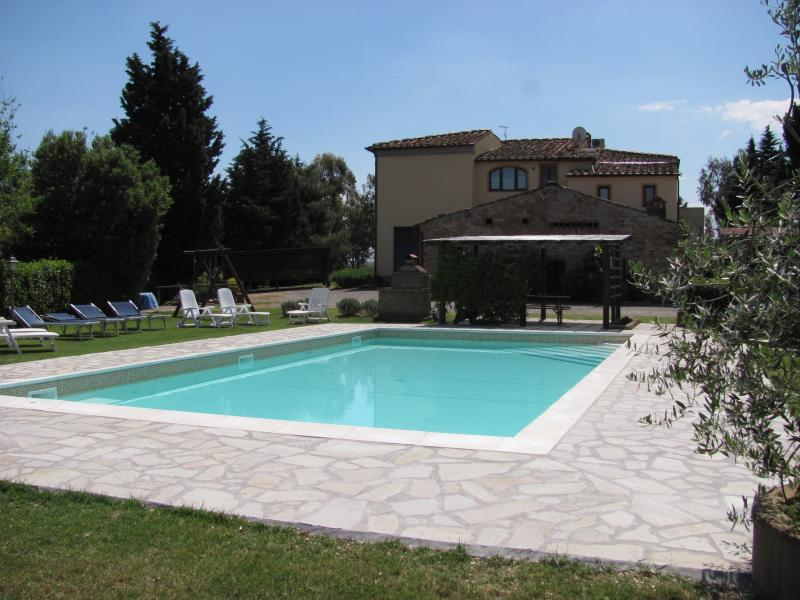 Casa Rossa - Swimming pool - Agriturismo Casa Rossa Vacation Rental with AC - Peccioli - rentals