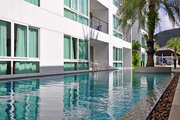 Two huge swimming pools and a gym in front of the building - 40 - Stunning Sea view 3 bdrm Penthouse w. Jacuzzi - Kamala - rentals