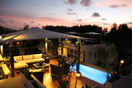 Private penthouse with spectacular sunsets - Bang Tao beach Penthouse private pool - Thalang - rentals