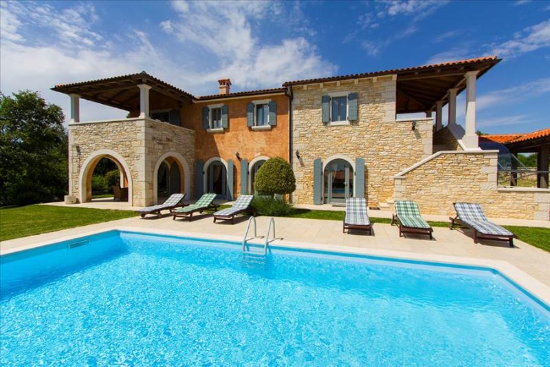 A beautifull four bedroom villa with heated private pool - Image 1 - Croatia - rentals