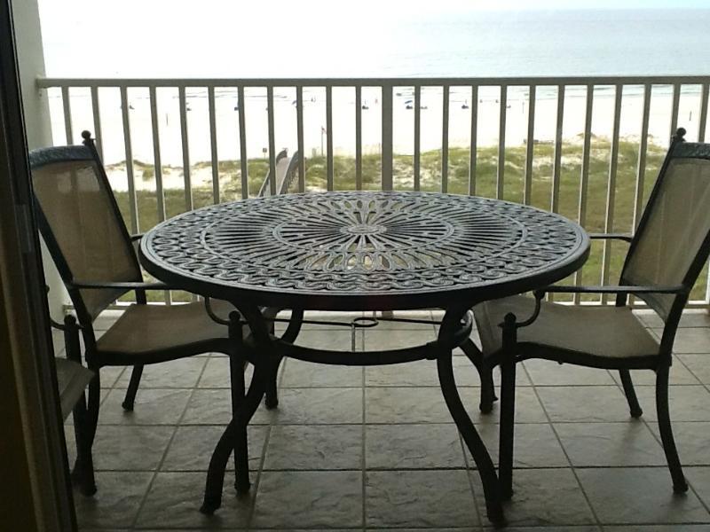 Balcony - Lovely Gulf Front Condo - Orange Beach - rentals