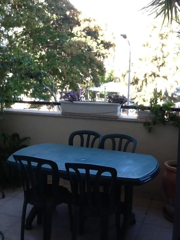 Balcony overlooking park - 3-bedroom in central Ra'anana overlooking park - Ra'anana - rentals