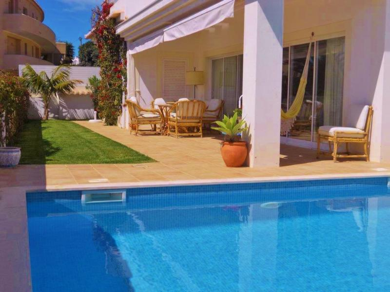 Beach Apartment with private pool, BBQ, sea views - Image 1 - Lagos - rentals