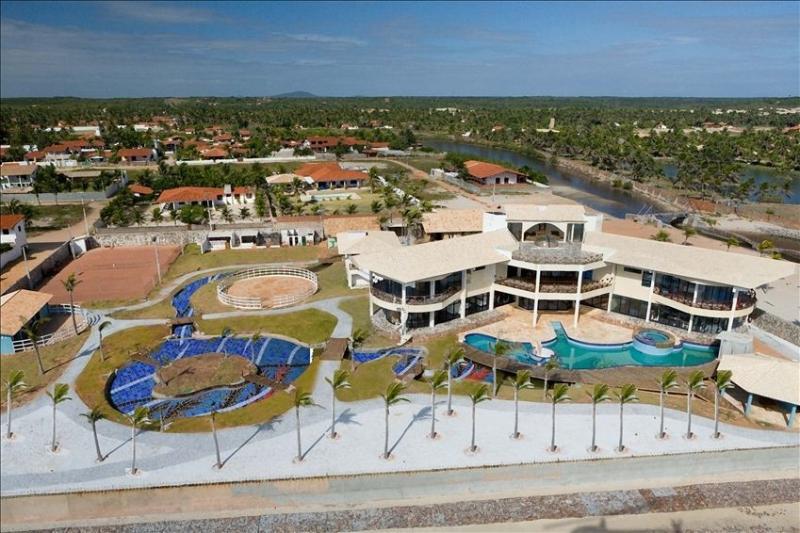 Ariel View - Luxury Villa on the Beach - Cascavel - rentals