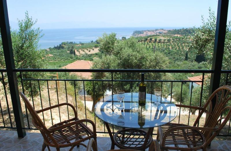 View from veranta - A Complex Of 5 Unique Villas!!! - Koroni - rentals