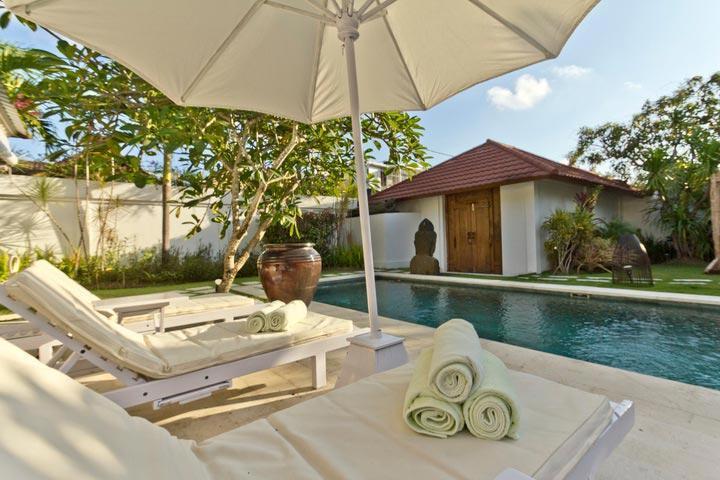 Dream 3 Br villa Drupadi 600m beach - Image 1 - Seminyak - rentals
