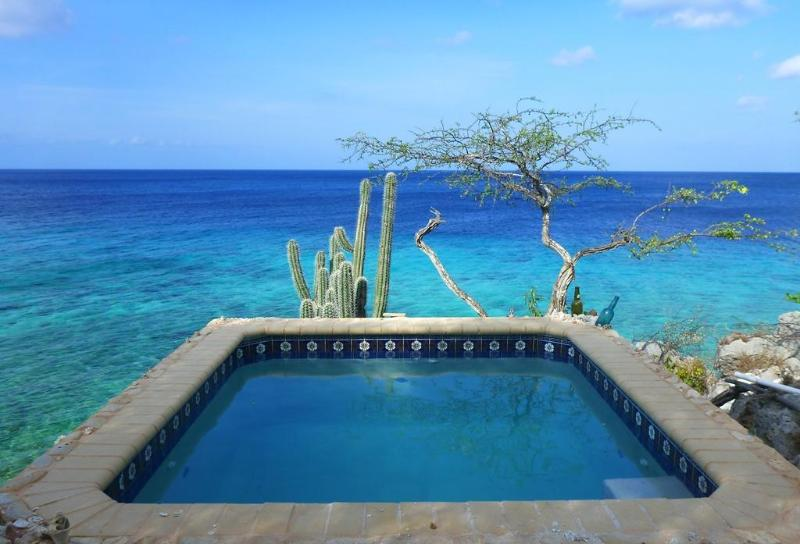 You will love the sunrise!  BOOM! - Cas Cielo-Most unique seaside cottage on Curacao! - Willibrordus - rentals