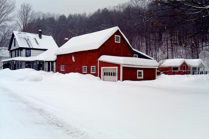 Winter Snow! On a quiet street, house is less than 5 min. walk to the village. - Live & Breathe VT- Village Home, Yoga Studio, Ski! - Jamaica - rentals
