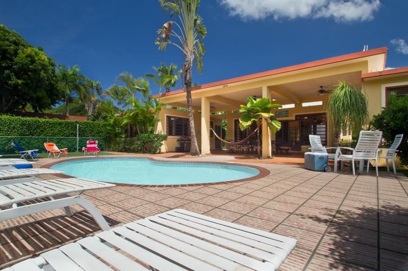 Hacienda Ensenada-4 Acre Beachfront Home in Rincon, Puerto Rico - Image 1 - Rincon - rentals