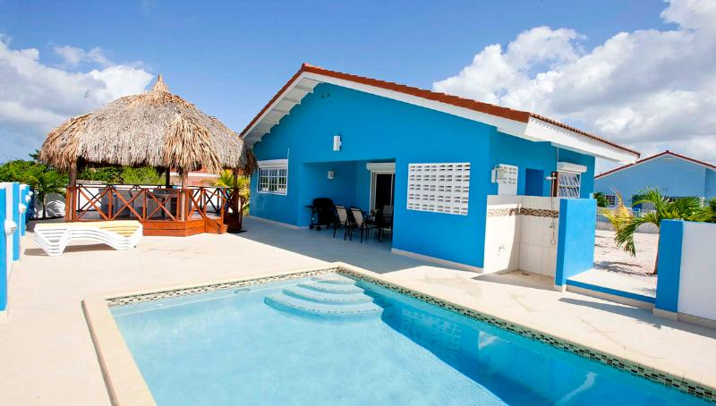 Villa Blou Curacao - Villa Blou Curacao, with private pool, and car, rent direct from owner - Willibrordus - rentals