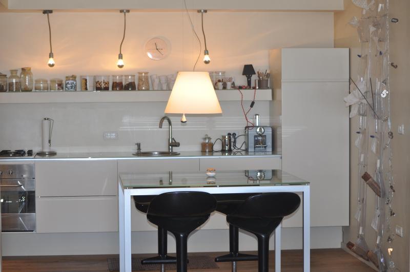 Ktichen - Basel Tower Apartment - Old North Tel Aviv - Tel Aviv - rentals