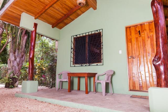Cabin 1 Front Porch - Unit 1 / Casa Rosada Nosara / Playa Guiones - Nosara - rentals