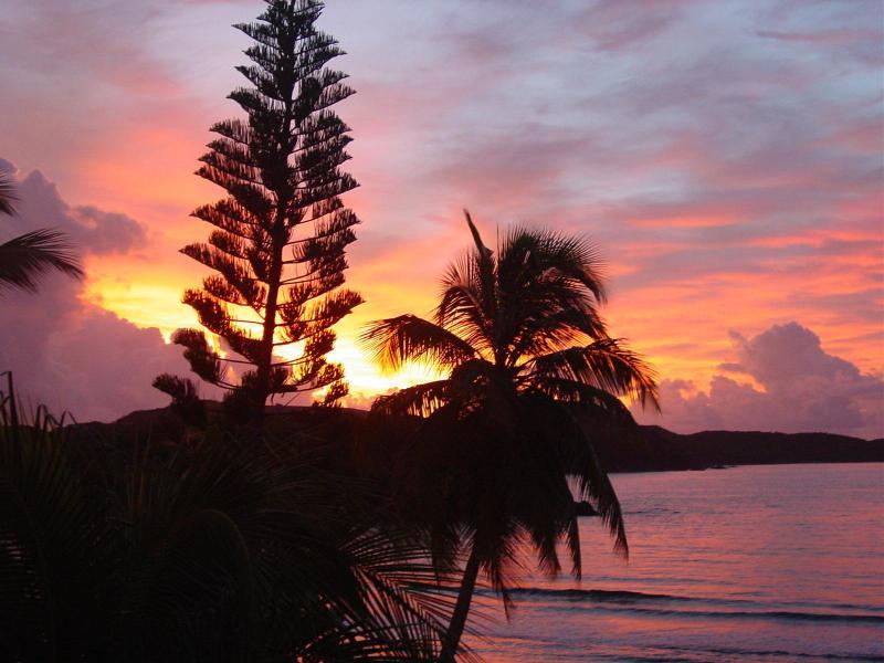 Sunrise at the studio - Studio Condo on the Waterfront at Bolongo Bay - Bolongo Bay - rentals