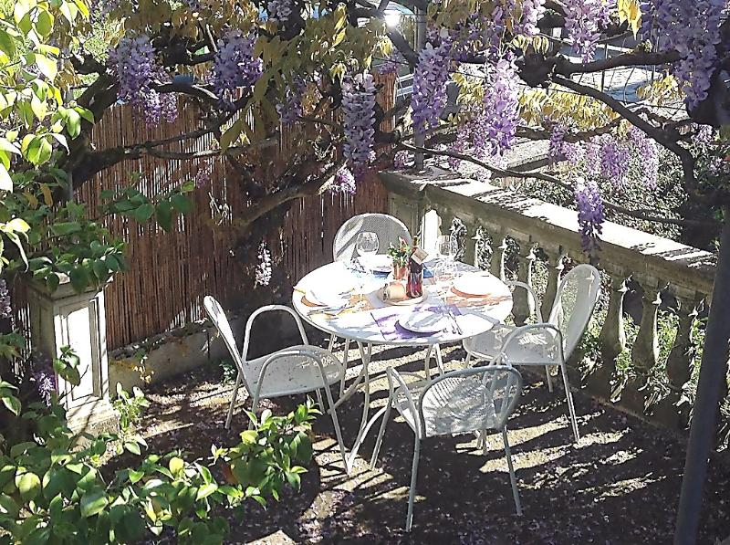 Wisteria pergola - Modern 1 Bedroom Apartment Rental in Lucca - Lucca - rentals