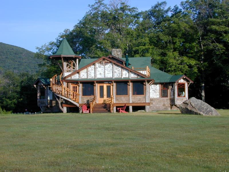 From the Golf Course - Camp Little Pine - Lake Placid - rentals
