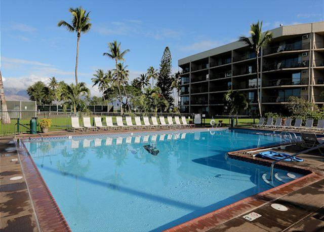 Maui Sunset #A-103 Oceanfront Complex, Ground Floor, 1 Bd 2 Bath Great Rates! - Image 1 - Kihei - rentals