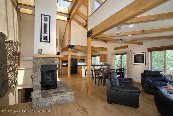 Living Area - Beautiful Spacious Snowmass Home!!! - Snowmass Village - rentals