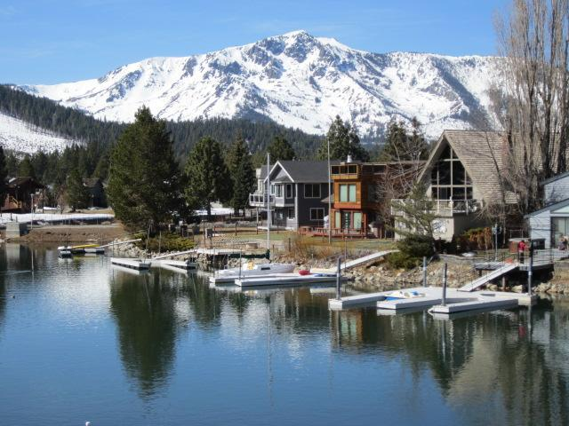 Spectacular view from the living room, dining room and kitchen - Tahoe Keys Waterfront Getaway - South Lake Tahoe - rentals
