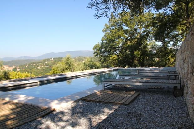 pool with a view - Easy Living Villa with Beautiful View, Balcony, and Pool - Montauroux - rentals
