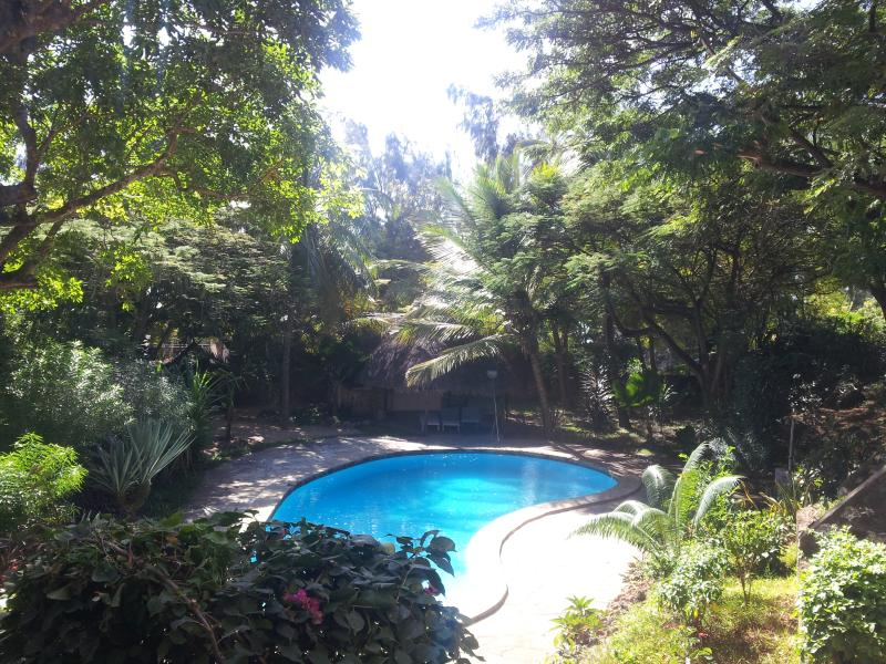 swimming pool view - Ground floor room in a residence close to the beach - Malindi - rentals