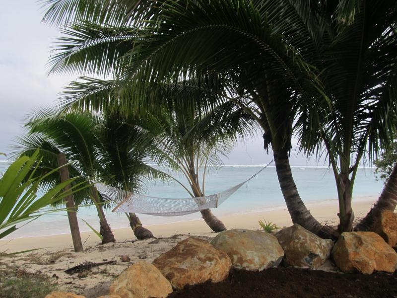 Pae Moana hammock - Pae Moana, Aroa Beach, Rarotonga. Cook Islands - Rarotonga - rentals