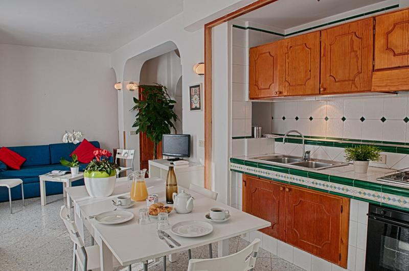 Living - 3 Bedroom Serviced Apartment in Resort with Pool - Massa Lubrense - rentals