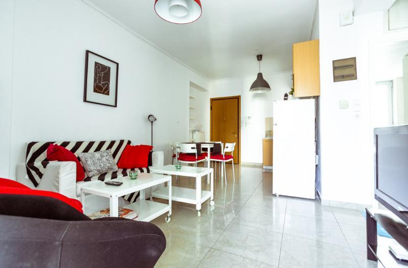 Living room - Apartment at Marousi, Themidos - Athens - rentals