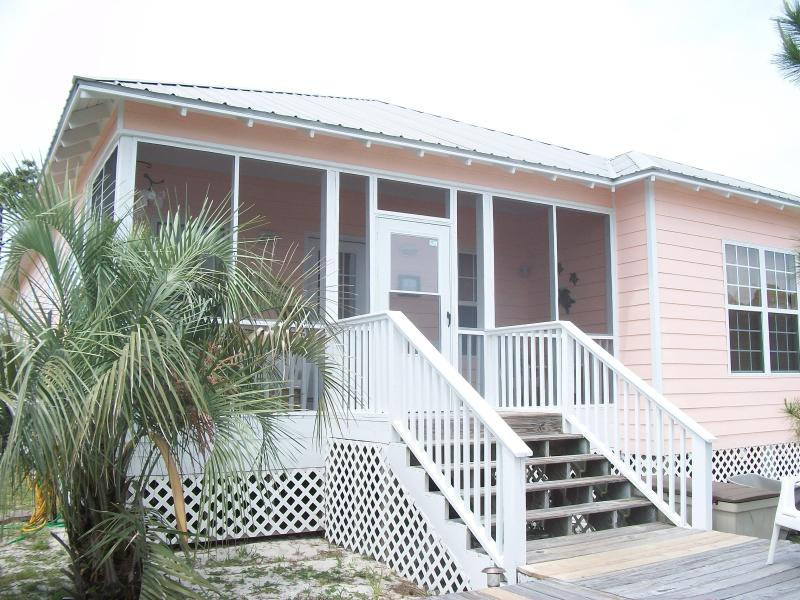 Front Of Cottage - Peaceful Beach Cottage! Wifi, Pools, Hot Tub - Gulf Shores - rentals